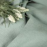 Bettlaken in grünblau aus Gewaschenem Voll-Leinen (mit Fixgummi)