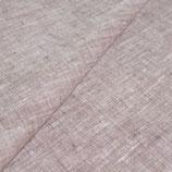 Bettlaken -Melange aus dezentem roten und weissen Garn -mit Fixgummi