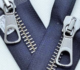 Reissverschluss metall beidseitig teilbar nachtblau 82 cm