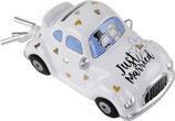 Sparkasse Hochzeits-Auto
