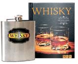 Whisky Geschenkset (Buch und Flachmann)