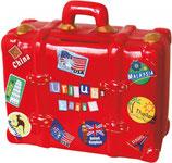 "Sparkasse Koffer rot ""Urlaub"""