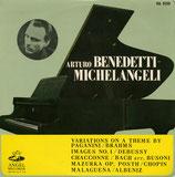 商品名A. Benedetti Michelangeli LP
