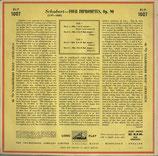 商品名 HMV BLP1007 Schnabel 10 inch LP