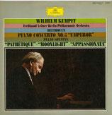 商品名Kempff Beethoven Piano Con. No.5, 3. Sonatas 2 LPs
