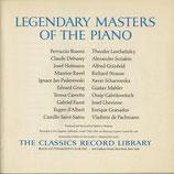 商品名 The Classical Record Library 3LP Piano Roll