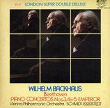 商品名Backhaus Beethoven Piano Con. No.3,4,5  2 LPs