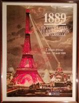 商品名1889-1989 La Tour Eiffel   Poster