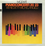商品名Michelangeli MOzart Piano Con. 20,23 LP