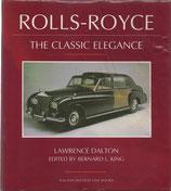 商品名Rolls-Royce The Classic Elegance Book