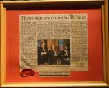 商品名 The Three Tenors 1995  Goods