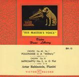 商品名Victor Japan A. Rubinstein 45