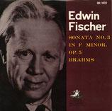 商品名E. Fischer Brahms Piano Sonata 10 inch LP
