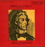 商品名Rubinstein Chopin All Mazrkas 3 LP-BOX