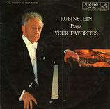 商品名Rubinstein Your Favorites 10 inch LP