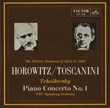 商品名JVC HP-106 Tchaikovsky Piano Con. Toscanini 10 inch LP