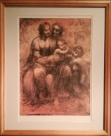 """商品名ダ・ヴィンチ """"聖アンナと聖母子の下絵"""" Fine Art"""
