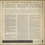 商品名Columbia ML4294 Piano Roll LP