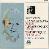 商品名E. Fischer Beethoven 2 Piano Sonatas LP