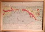 商品名American Airlines Freight Map Tokyo-Seatle   Goods