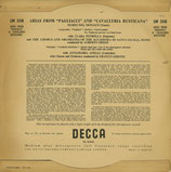 商品名Decca  LW 5118 Del Monaco 10inch  LP