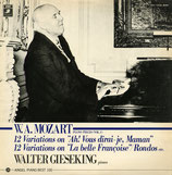 商品名Gieseking Mozart Ronds LP