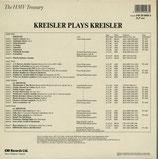 商品名 EMI EM2905563 Kreisler 2LP