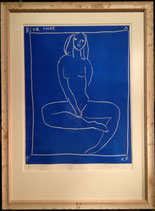 商品名Ken Done Blue Nude  Fine Art