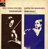 商品名Menuhin and Boulez  LP