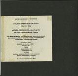 商品名 HRE 243  2LP  GALA Re-Opening of La Scala Rare LP