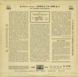 商品名 HMV BLP1063 Edwin Fischer 10 inch LP