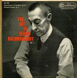 商品名The Art of Rachmaninoff Vol.1 LP
