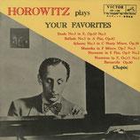 商品名JVC HP-138 Horowitz Favorites 10 inch LP