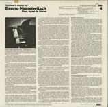 商品名 Kbi 4 Moiseiwitsch Piano Roll