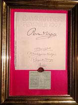 商品名Bayreuth 1997 Wagner Goods