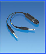 ADAPTATEUR HEADSET 2 FICHES JACK