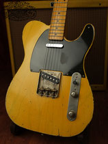 Arty's Butterscotch Blonde Relic Broadcaster / Nocaster Repro (Telecaster Style)