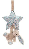 Spieluhr Stern mit Häschen