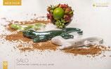 Tiziano Dekofigur Deko Salamander Salo weiß-creme