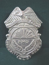 売切れ SECURITY GUARD BADGE