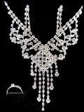 Parure bijoux fantaisie 3 pièces strass PAR046