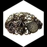 Bracelet steampunk octopus, montre BRA020