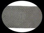 Galon 11.5 cm or et argent imitation strass  4 mm X 24 rangs GAL094