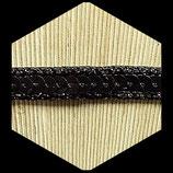 Galon ruban noir sequins 1 cm X 1 m GAL027