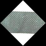 Galon 11.5 cm imitation strass argent et vert 4 mm X 24 rangs GAL078