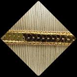 Galon ruban or, doré sequins 1 cm X 1 M GAL024