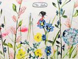 Mein Garten print A4