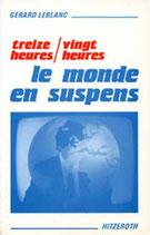 Livre Le monde en suspens