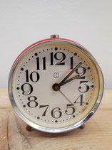ORANGE VINTAGE CLOCK H