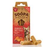 Soopa Dental sticks Cranberry Sweet potato